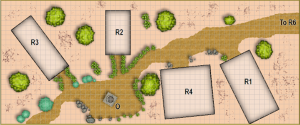 The Ruins Map: 4E Style