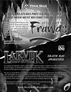Frawgs-Larvik Full Page Ad