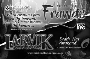 Frawgs-Larvik Full Page Ad2
