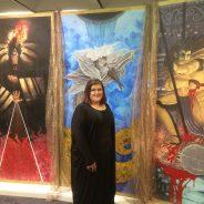 Reba Pyron art exhibit, The Rot