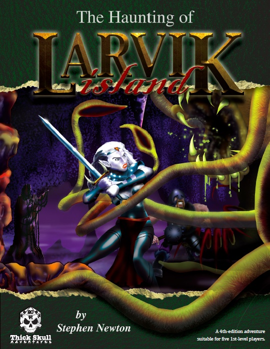 Haunting of Larvik Island 4E Cover